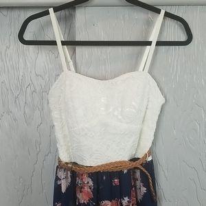 A.U.W floral maxi dress